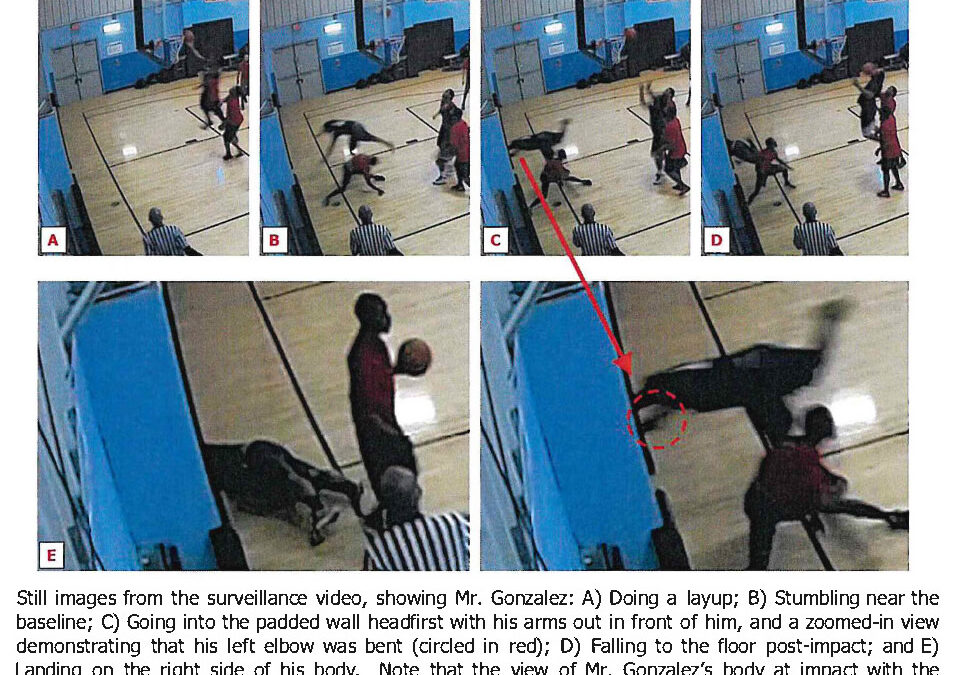Quadriplegia and Fatality Risk from Inadequate Basketball Court Buffer Zones: The Time to Act is Now